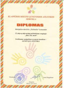 diplomas bėk