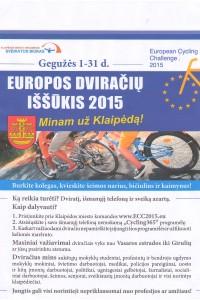 dviračių iššūkis